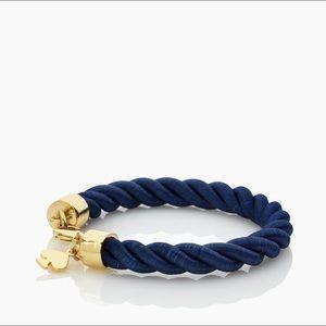 KATE SPADE BLUE/GOLD ROPE BRACELET
